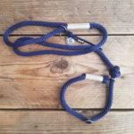 Jachtlijn solid – donkerblauw creme