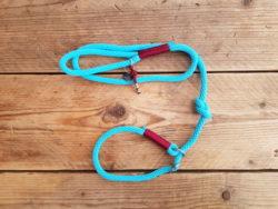 Jachtlijn solid – lichtblauw burgundy