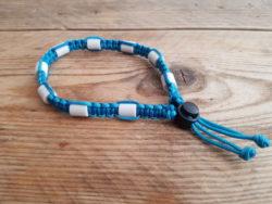 Tekenband cobra – blauw