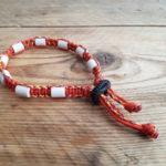 Tekenband cobra – oranje fluo