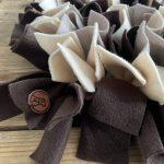 Snuffelmat beige/bruin – 50cm