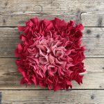 Snuffelmat rood/roze – 35cm