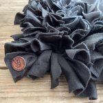 Snuffelmat grijs/zwart- 50cm