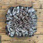 Snuffelmat grijs/beige – 35cm