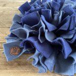 Snuffelmat lila – 25cm